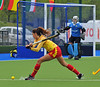 30 April 2014. Champions Challenge 1 Hockey Tournament At the National Hockey Centre, Glasgow Green.<br /> South Africa v Spain