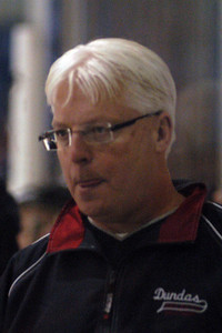 Coach G licks his chops thinking his Dundas Novice team will take on the competition.