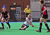 Grove v Dundee Wanderers.<br /> The 2011 Ladies Final of the Arthur McKay Scottish Cup at Peffermill on 9th April 2011.