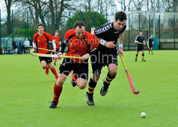 Hillhead v Dundee Wanderers, a Scottish Division 1 hockey match played at Jordanhill on 10th March 2012.