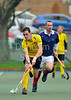 Kelburne v Menzieshill, a Scottish Division 1 hockey match at Bellahouston on 15th October 2011.