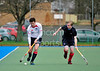Western Wildcats v Grange, a Scottish Division 1 hockey match at Bellahouston on 25th February 2012.