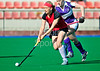 Erskine Stewart's Melville v Inverleith<br /> The Ladies Scottish Bowl Final, played at Peffermill on 14th April 2012.