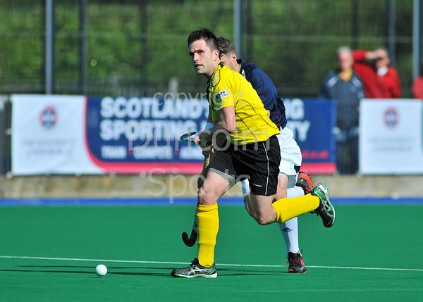 25 May 2013, Peffermill, Edinburgh. Scottish Hockey Cup Final (men)<br /> Grove Menzieshill v Glynhill Hotel Kelburne