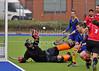 Western Wildcats v Uddingston Scottish Cup tie played at Auchenhowie on 17 March 2013