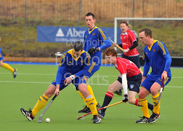 Western Wildcats v Uddingston Scottish Cup tie played at Auchenhowie on 17 March 2013