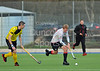 Western Wildcats v Kelburne . A National League Div 1 match played at Auchenhowie on 17 November 2012.