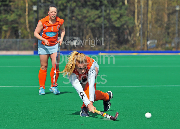 Clydesdale Western v CALA Edinburgh. Scottish Cup semi-final at Peffermill on 20 April 2013
