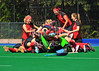 25 May 2013, Peffermill, Edinburgh. Scottish Hockey Plate Final (women)<br /> Watsonians Ladies v Erskine Stewarts Melville FP