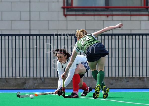 Edinburgh University v Grove Menzieshill. Scottish Cup semi-final at Peffermill on 20 April 2013