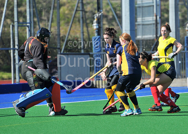 District & Reserve Finals Day at Peffermill. 4 May 2013.<br /> <br /> Women - District Plate - Final<br /> <br /> Hillhead II v Grange EL B