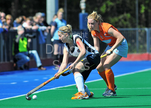 25 May 2013, Peffermill, Edinburgh. Scottish Hockey Cup Final (women) <br /> <br /> Milne Craig Clydesdale Western v Edinburgh University Ladies