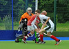 18 May 2014 at the National Hockey Centre, Glasgow Green.<br /> Men's Reserve Plate Final - Aberdeen GSFP III v Rottenrow Blue Sox II