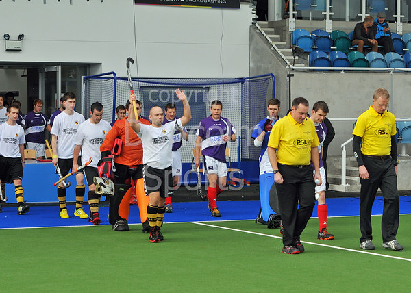 Hillhead v Inverleith. A National League Division 1 match at the National Hockey Centre, Glasgow Green, on 20 October 2013.
