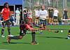 Trinidad & Tobago v Hillhead. A challenge match played at Auchenhowie on 17 July 2014