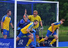 18 May 2014 at the National Hockey Centre, Glasgow Green.<br /> Men's District Plate Final - Perthshire II v Hillhead II