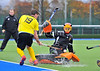 Kelburne v Clydesdale. Scottish League Division 1 match at Glasgow Green on 2 November 2013.