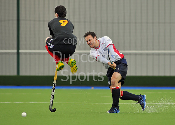 Division 1 play-offs at Glasgow Green on 22 March 2014.<br /> Western Wildcats v Hillhead