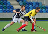 Division 1 play-offs at Glasgow Green on 22 March 2014.<br /> <br /> Grove Menzieshill v AAM Gordonians