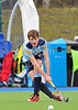 Division 1 play-offs at Glasgow Green on 22 March 2014.<br /> Inverleith v Clydesdale