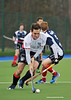 29 March 2014. Hockey play-offs at Glasgow Green.<br /> Grange v Western Wildcats