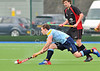 29 March 2014. Hockey play-offs at Glasgow Green.<br /> PSL Team Sport Clydesdale v Dundee Wanderers