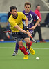 30 March 2014. Hockey play-offs at Glasgow Green.<br /> Gordonians v Inverleith