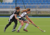 24 May 2014 at the National Hockey Centre, Glasgow Green.<br /> <br /> Scottish Cup - Women's Plate Final - Granite City Wanderers Ladies v Edinburgh Uni Ladies A