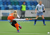 30 March 2014. Hockey play-offs at Glasgow Green.<br /> <br /> The Grand Final - Clydesdale Western v Grove Menzieshill