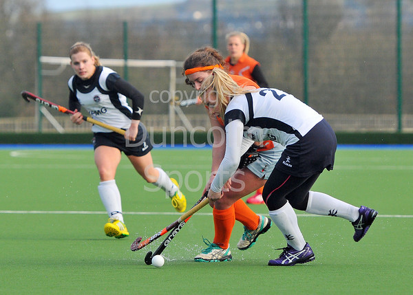 Division 1 play-offs at Glasgow Green on 22 March 2014.<br /> Clydesdale Western v Edinburgh University