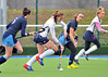 29 March 2014. Hockey play-offs at Glasgow Green.<br /> CALA Edinburgh v Grange