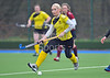 30 March 2014. Hockey play-offs at Glasgow Green.<br /> <br /> Kelburne Ladies v Watsonians Ladies