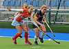 18 May 2014 at the National Hockey Centre, Glasgow Green.<br /> Women's District Cup Final - Erskine Stewart's Melville FP II v Milne Craig Clydesdale Western IV