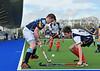19 April 2015. National Hockey Centre, Glasgow Green<br /> Men's Reserve Cup Final: Grange III v PSL Team Sport Clydesdale III