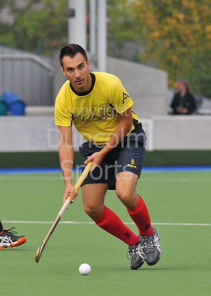 Hillhead v AAM Gordonians.A National League Division 1 game at Glasgow Green on 13 September 2014.