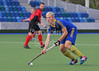 11 October 2014 National Hockey Centre, Glasgow Green. Uddingston v Alpha Data Carnegie, a National League Division 2 game.