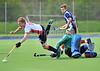 25 April 2015 at Auchenhowie. Scottish Division 1 European play-off 1st leg match.<br /> Western Wildcats v Grange