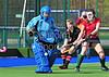 18 April 2015. National Hockey Centre, Glasgow Green<br /> Women's Scottish Plate Final - Dundee Wanderers v Edinburgh University III