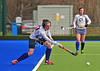 29 March 2015. National Hockey Centre, Glasgow Green. The semi-final of the Scottish Women's Cup.  Grove Menzieshill v Edinburgh University.