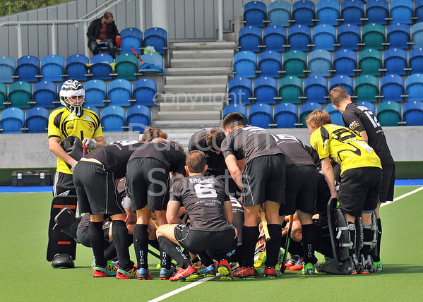 15 May 2016 at the National Hockey Centre, Glasgow Green, Scotland.<br /> Eurohockey Club Champions Trophy 2016 Men, Day 3.<br /> SK Slavia Prague (CZE) v Cardiff & Met (WAL)