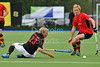 13 May 2016 at the National Hockey Centre, Glasgow Green, Scotland.<br /> Eurohockey Club Champions Trophy 2016 Men, Day 1.<br /> Banbridge (IRL) v HC Rotweiss Wettingen (SUI)