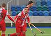 13 May 2016 at the National Hockey Centre, Glasgow Green, Scotland.<br /> Eurohockey Club Champions Trophy 2016 Men, Day 1.<br /> SK Slavia Prague (CZE) v HC Bra (ITA)