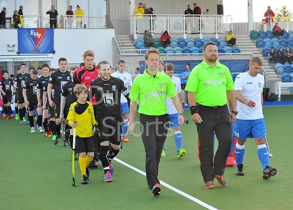 13 May 2016 at the National Hockey Centre, Glasgow Green, Scotland.<br /> Eurohockey Club Champions Trophy 2016 Men, Day 1.<br /> HC Minsk (BLR) v Bromac Kelburne (SCO)