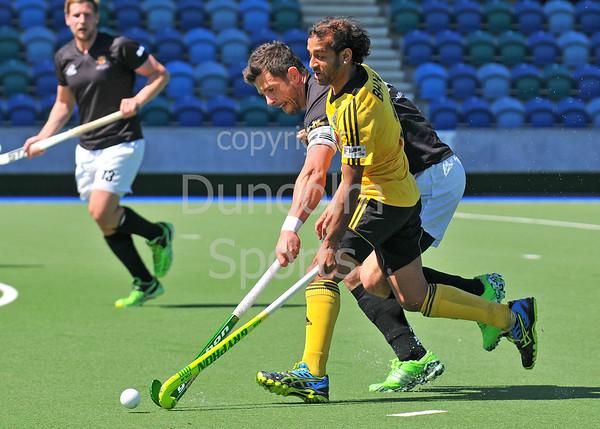 14 May 2016 at the National Hockey Centre, Glasgow Green, Scotland.<br /> Eurohockey Club Champions Trophy 2016 Men, Day 2.<br /> HC Bra (ITA) v Cardiff & Met (WAL)