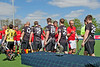 16 May 2016 at the National Hockey Centre, Glasgow Green, Scotland.<br /> Eurohockey Club Champions Trophy 2016 Men, Day 4.<br /> Final match - Cardiff & Met (WAL) v Banbridge (IRL)