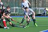 19 March 2016 at the National Hockey Centre, Glasgow green. Men's Scottish Plate semi final - Granite City Wanderers v Stirling University