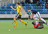 17 April 2016 at the National Hockey Centre, Glasgow Green. Men's National League Grand Final, Kelburne v Grove Menzieshill