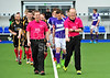 16 April 2016 at the National Hockey Centre, Glasgow Green. National League play-off game, leg 1, Hillhead v Inverleith