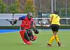 14 November 2015 at the National Hockey Centre, Glasgow Green<br /> Scottish National League Div 1 match - Kelburne v Uddingston