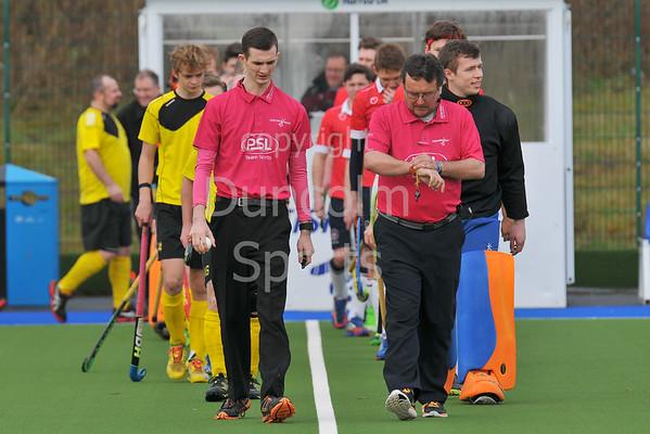 2 April 2016 at the National Hockey Centre, Glasgow Green.<br /> Scottish Hockey Men's Finals Day<br /> Reserve Plate Final<br /> Pro-Life Fitness Kelburne III v Edinburgh University III